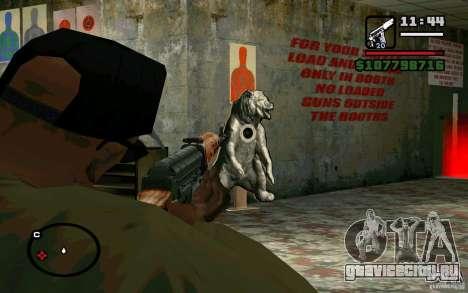 Снайперская Винтовка Драгунова v2.0 для GTA San Andreas четвёртый скриншот