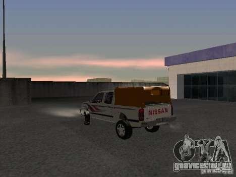Nissan Pickup для GTA San Andreas вид сзади слева