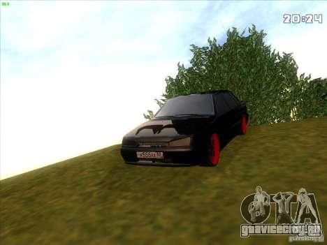 ВАЗ 2115 Devil Tuning для GTA San Andreas вид справа