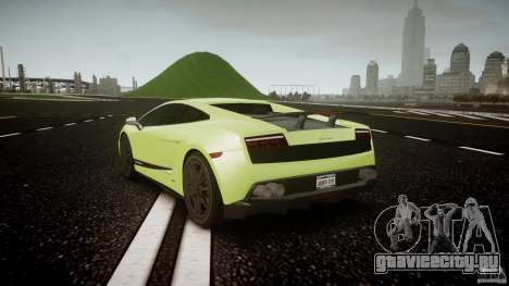 Lamborghini Gallardo LP570-4 Superleggera 2010 для GTA 4 вид сзади слева