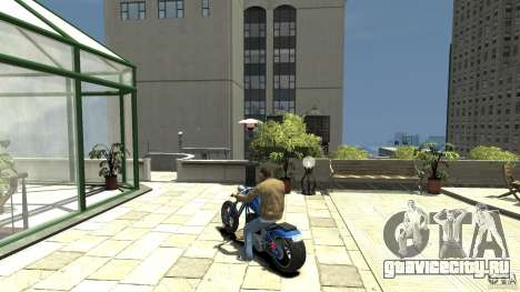The Lost and Damned Bikes Hexer для GTA 4 вид сзади слева