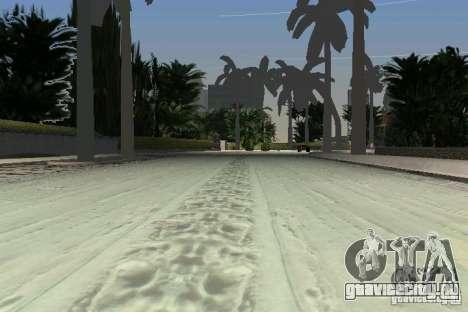 Snow Mod v2.0 для GTA Vice City шестой скриншот