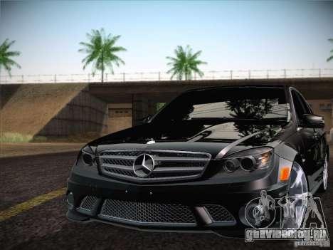 Mercedes-Benz С63 AMG для GTA San Andreas