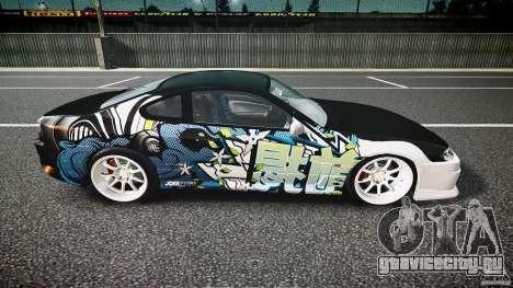 Nissan Silvia S15 Drift v1.1 для GTA 4 вид сбоку