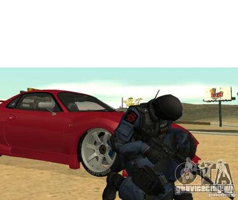 M4 для GTA San Andreas третий скриншот