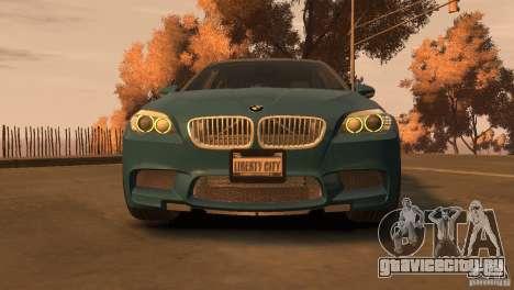BMW 535i M-Sports для GTA 4 вид сзади слева