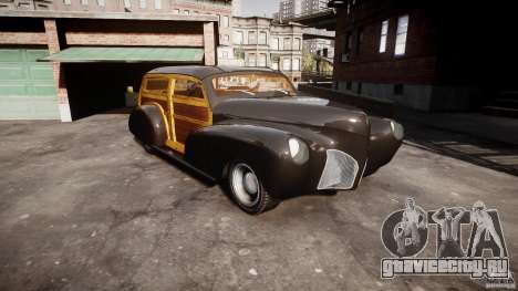 Chevy Fleetmaster Woody Kustom 1948 для GTA 4