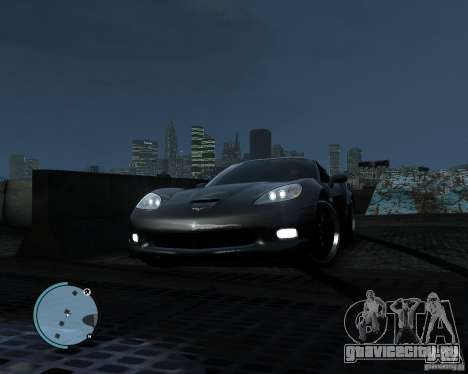 Chevrolet Corvette Grand Sport 2010 для GTA 4