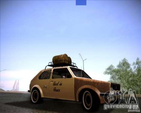 Volkswagen Golf MK1 rat style для GTA San Andreas
