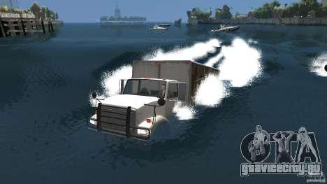 Benson boat для GTA 4 вид сзади слева