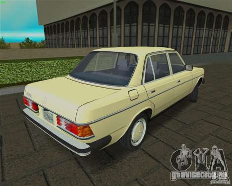 Mercedes-Benz 230 1976 для GTA Vice City вид справа