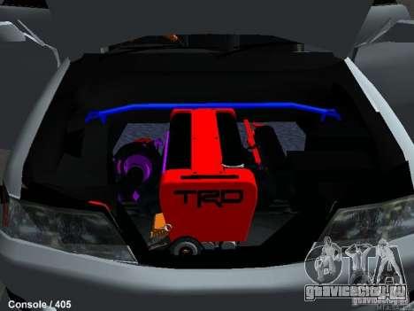 Toyota Mark II 100 1JZ-GTE для GTA San Andreas вид сзади