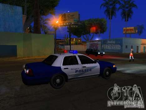 Ford Crown Victoria Belling State Washington для GTA San Andreas салон