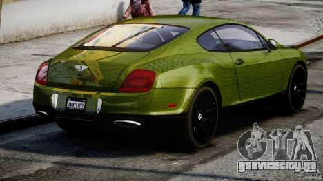 Bentley Continental SS 2010 Suitcase Croco [EPM] для GTA 4 вид сбоку