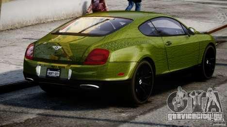 Bentley Continental SS 2010 Suitcase Croco [EPM] для GTA 4 вид сбоку
