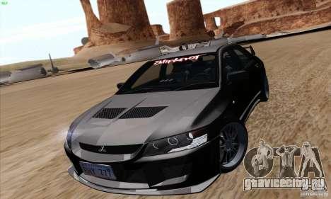 Mitsubishi Lancer EVO VIII BlackDevil для GTA San Andreas