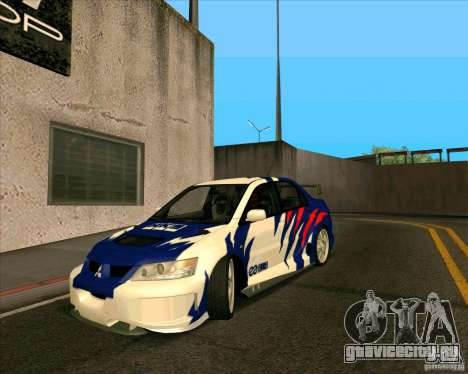Mitsubishi Lancer Evolution 8 MostWanted для GTA San Andreas