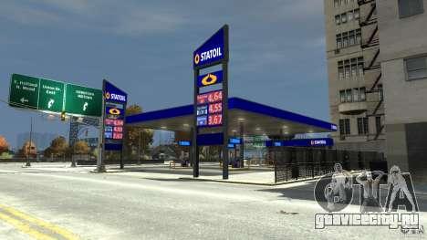 Statoil Petrol Station для GTA 4 второй скриншот
