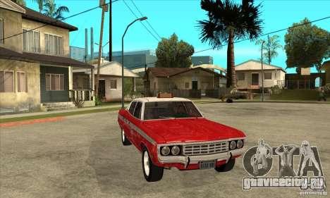 AMC Matador Taxi для GTA San Andreas вид сзади