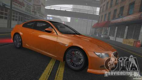 BMW M6 Hurricane RR для GTA 4 вид сбоку