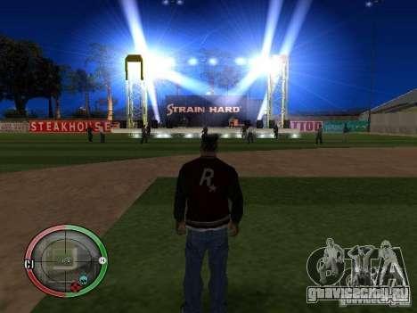 Концерт АК-47 v2 для GTA San Andreas седьмой скриншот