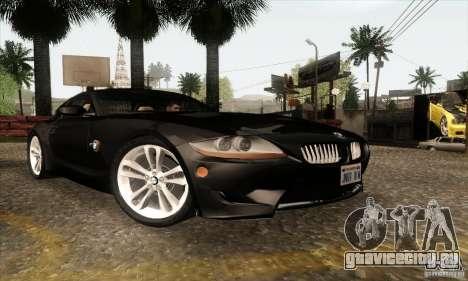 BMW Z4M для GTA San Andreas вид слева