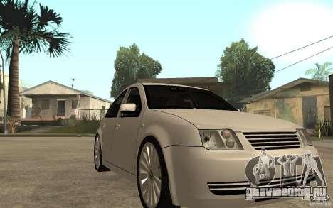 Volkswagen Bora PepeUz Edition для GTA San Andreas вид сзади