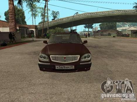 ГАЗ 311055 для GTA San Andreas вид слева