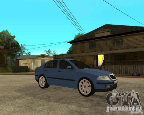 Skoda Octavia II. 2005 для GTA San Andreas вид справа