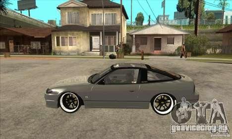 Nissan Silvia S15 1999 для GTA San Andreas вид слева