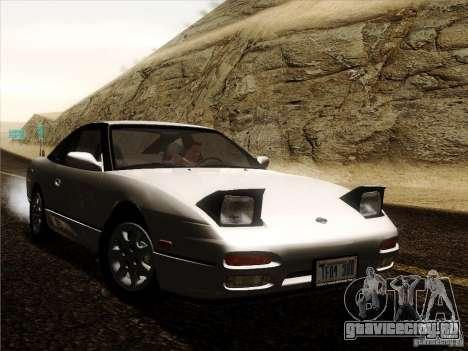 Nissan 240SX S13 - Stock для GTA San Andreas вид сзади