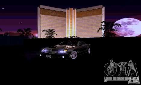 Mercedes-Benz SL65 для GTA San Andreas вид сверху