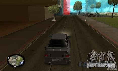 Уличные гонки для GTA San Andreas седьмой скриншот