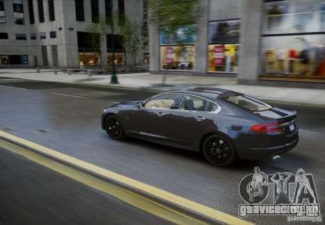 Jaguar XFR 2010 V.2.0 для GTA 4 вид сзади