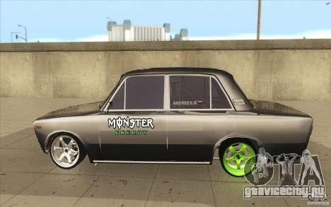 ВАЗ-2106 Lada Drift Tuned для GTA San Andreas вид слева
