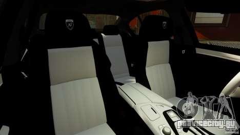 BMW M5 F10 2012 Hamann для GTA 4 вид сзади