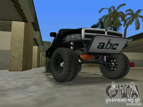 Dodge Ram Prerunner для GTA Vice City вид слева