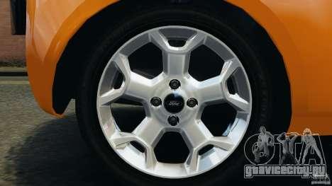 Ford Ka 2011 для GTA 4 вид сбоку