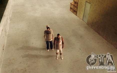 Sombras mais fortes em pedestres для GTA San Andreas шестой скриншот
