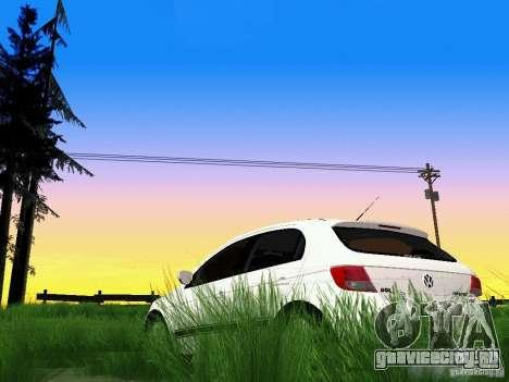 Volkswagen Gol Rallye 2012 для GTA San Andreas вид сбоку