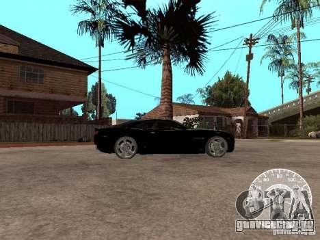 Chevrolet Camaro Concept для GTA San Andreas вид слева