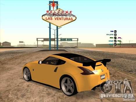 Nissan 370Z для GTA San Andreas вид слева
