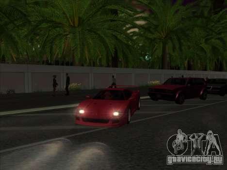 Nice ENBseries by laphund для GTA San Andreas второй скриншот