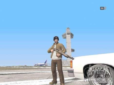 HQ Weapons pack V2.0 для GTA San Andreas девятый скриншот
