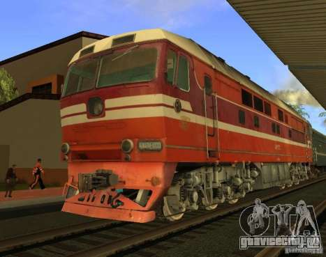 ЖД мод для GTA San Andreas седьмой скриншот
