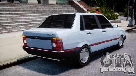 Fiat Duna 1.6 SCL [Beta] для GTA 4 вид сбоку