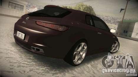 Alfa Romeo Brera Ti для GTA San Andreas вид справа