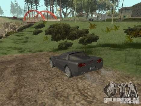 Cheetah из ГТА 4 для GTA San Andreas вид справа
