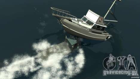 Biff boat для GTA 4 вид снизу