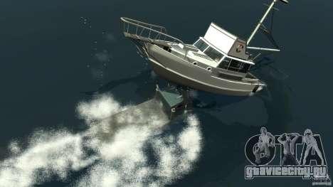 Biff boat для GTA 4 вид снизу